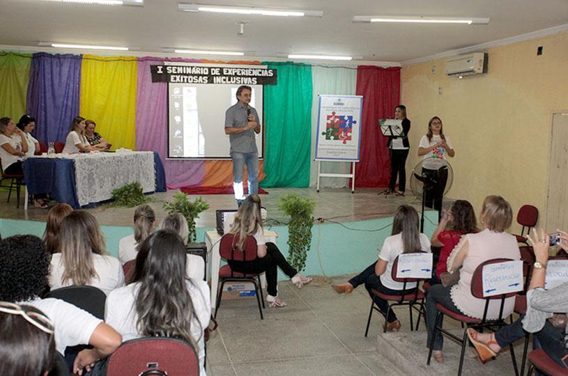Eusébio realiza o I Seminário de Experiências Exitosas Inclusivas