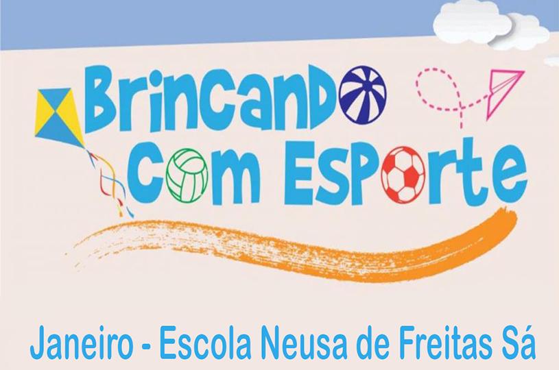 Eusébio realiza projeto Brincando com o Esporte em janeiro