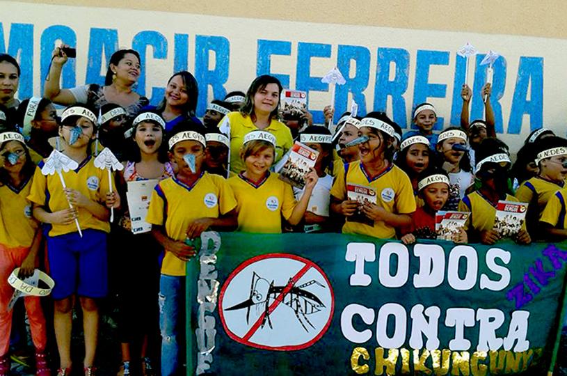 Eusébio obtém sucesso no combate as arboviroses em 2017