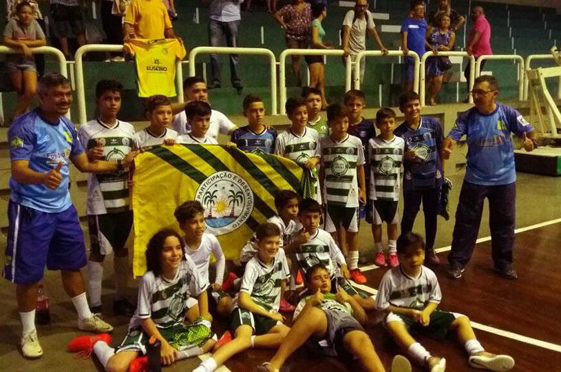Eusébio Futsal Sub 11 disputa a final do Cearense nesta quinta contra o Fortaleza