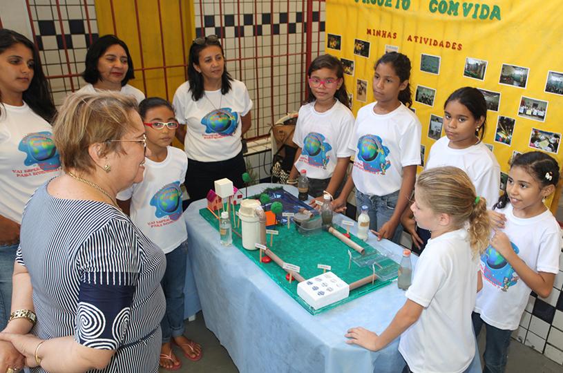 Eusébio realiza a VI Mostra COM VIDA com o tema Saúde Ambiental e Desenvolvimento Sustentável