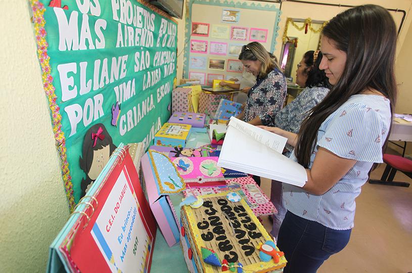 Educação Infantil de Eusébio expõe atividades realizadas durante o ano
