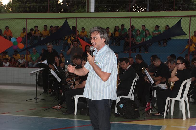 Prefeitura reinaugura o Ginásio Poliesportivo da Escola Elisbão Pio