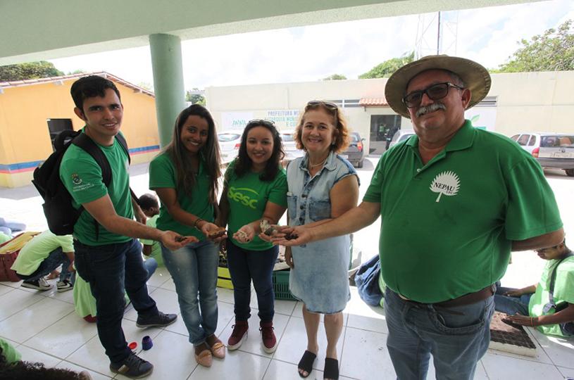 AMMA realiza oficina de produção de mudas nativas para criação de Viveiro Municipal