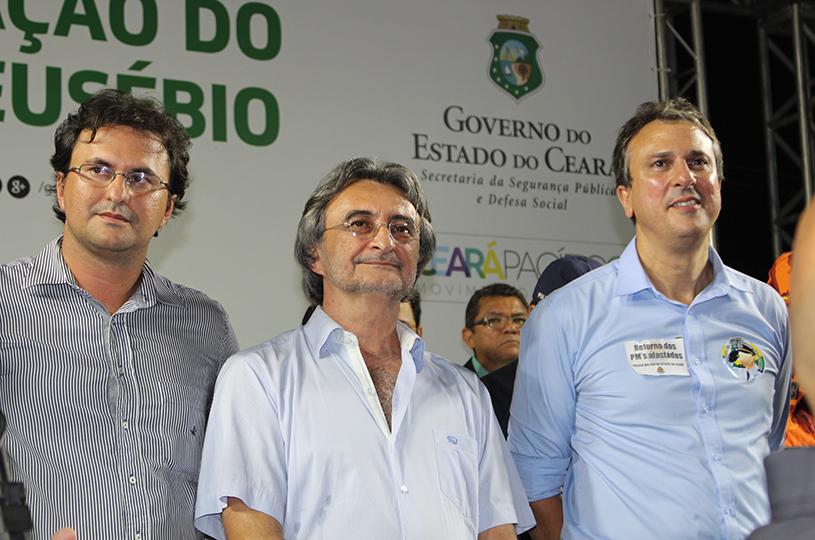 Camilo e Acilon instalam o BPRaio no Eusébio