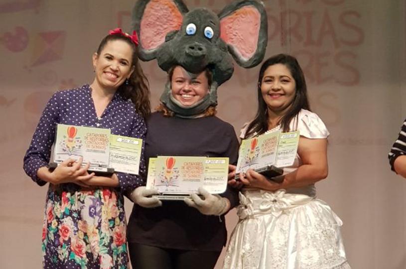 Professoras de Eusébio vencem o concurso de Contadores de Histórias