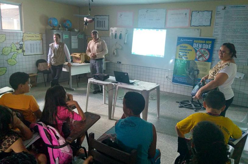 Prefeitura de Eusébio realiza dia D  de Combate ao Aedes aegypti