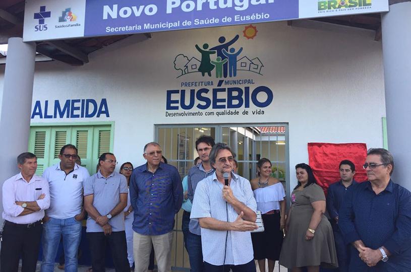 Em tarde de festa, Prefeitura entrega Posto de  Saúde à comunidade do Novo Portugal