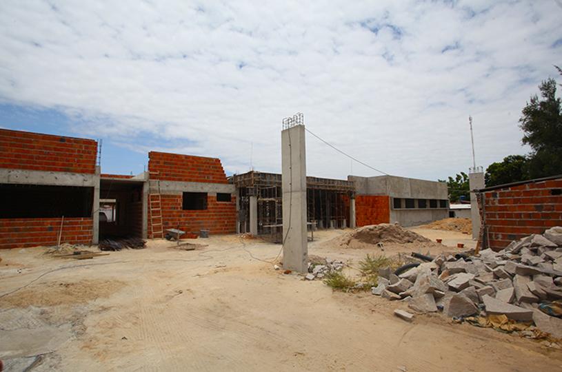 Centro Especializado de Reabilitação de Eusébio está com 60% das obras concluídas