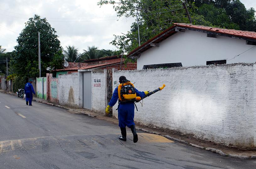 Com período de chuvas, Eusébio  intensifica combate ao Aedes Aegypti
