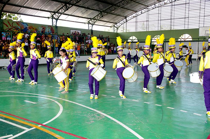 Eusébio comemora 12 anos de criação do projeto Bandas e Fanfarras Escolares