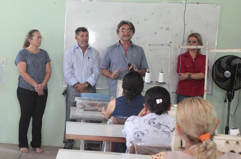 Prefeitura de Eusébio inicia o primeiro Curso de Corte e Costura de 2018