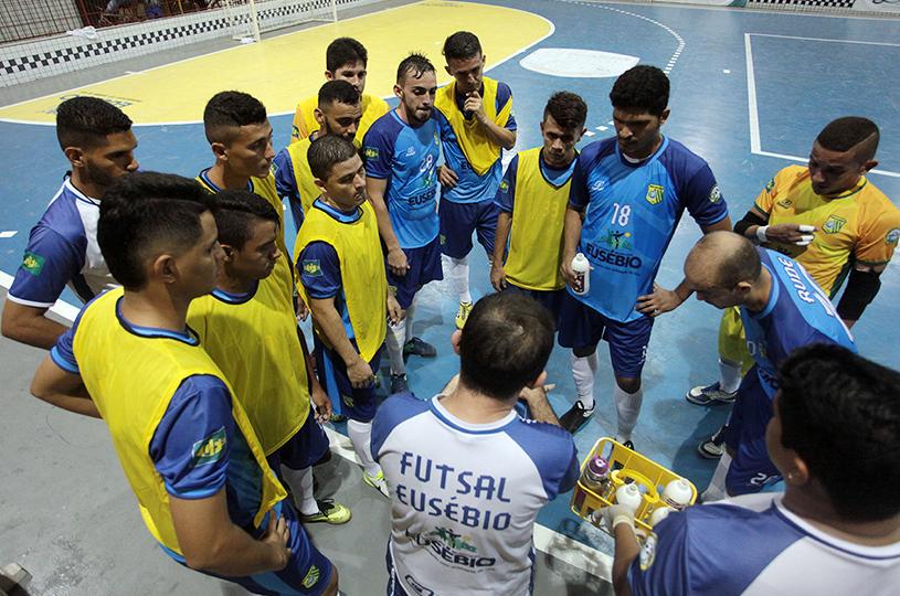 Sport Club Eusébio estreia com vitória na Copa Estado do Ceará de Futsal