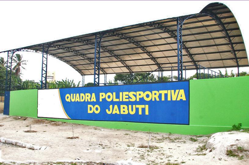 Prefeitura de Eusébio reinaugura a Quadra Poliesportiva do Jabuti na próxima quarta-feira, dia 28