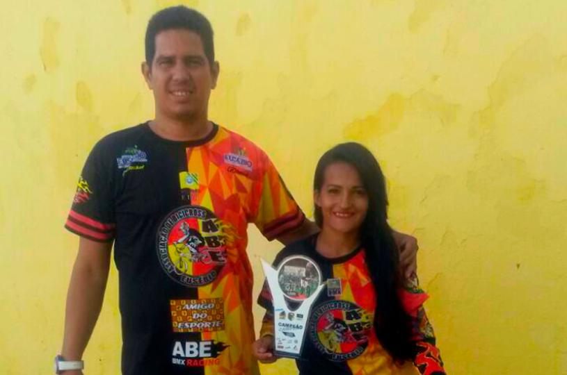 Atleta do Eusébio é campeã da 1ª Etapa do Campeonato Nordeste Brasil de Bicicross