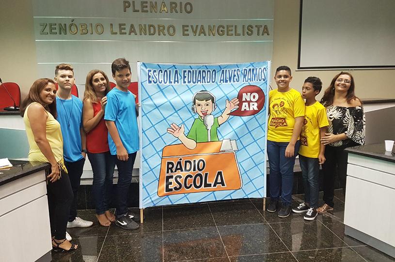 Eusébio realiza primeira capacitação do projeto Rádio Escola deste ano