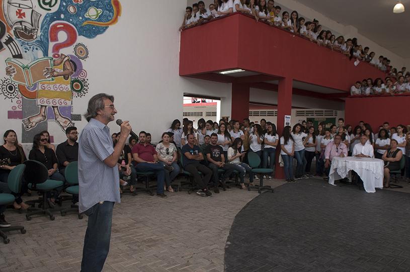 Eusébio comemora sete anos da Escola de Ensino Profissional Eusébio de Queiroz
