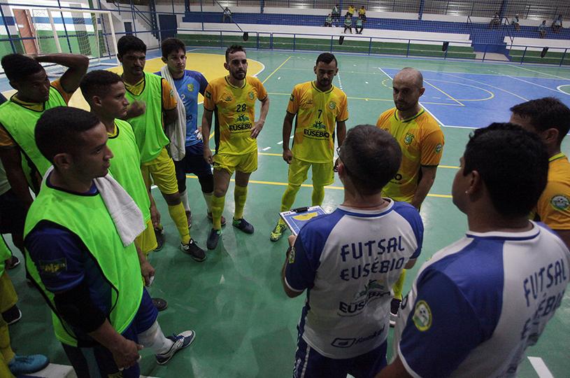 Sport Club Eusébio inicia quartas-de-final contra o Pague Menos nesta quarta
