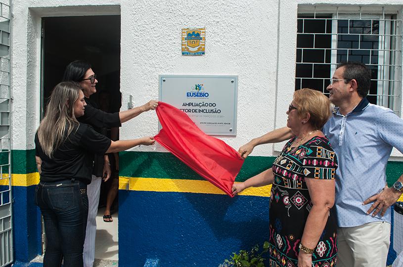 Prefeitura de Eusébio inaugura a ampliação do Setor de Inclusão