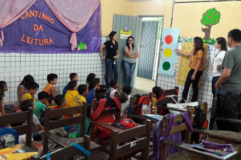 Eusébio realiza a Semana da Saúde na Escola com ênfase no combate a obesidade infantil