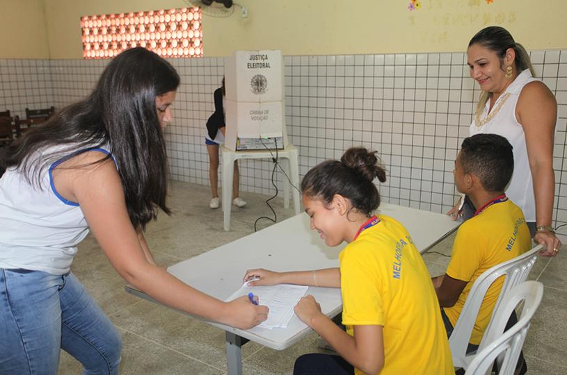 Eusébio realiza eleição dos grêmios estudantis