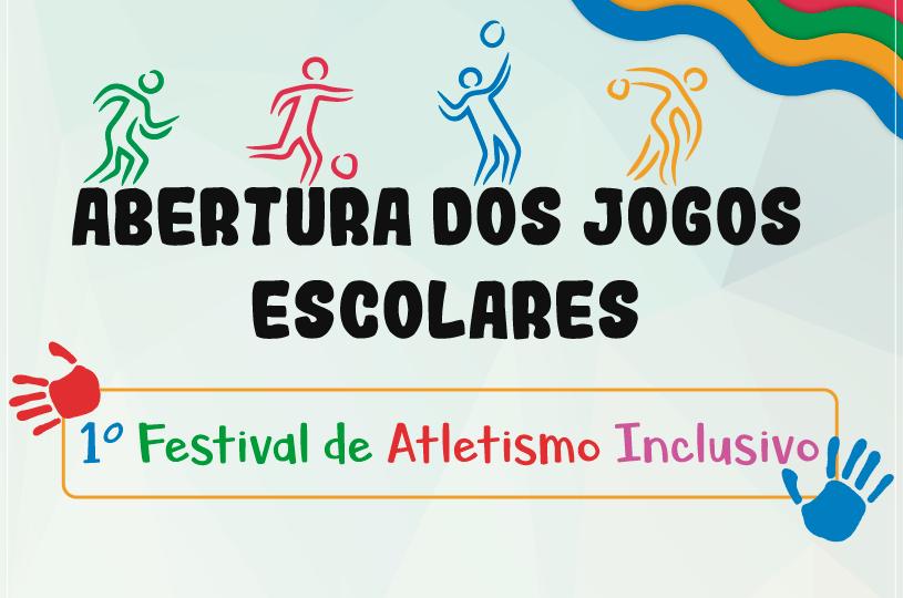 Prefeitura de Eusébio inicia Jogos Escolares e realiza Festival de Atletismo Inclusivo