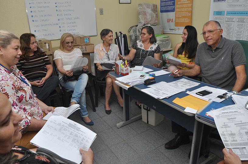 Eusébio reúne coordenadores de Saúde para definir diretrizes de combate e prevenção ao H1N1