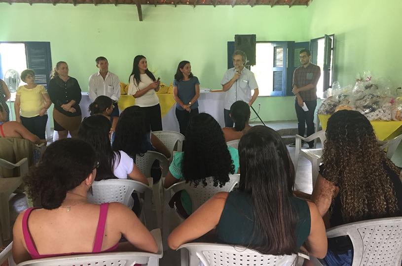 Prefeitura de Eusébio encerra II curso de Corte e Costura em Roupa de Cama para Bebês