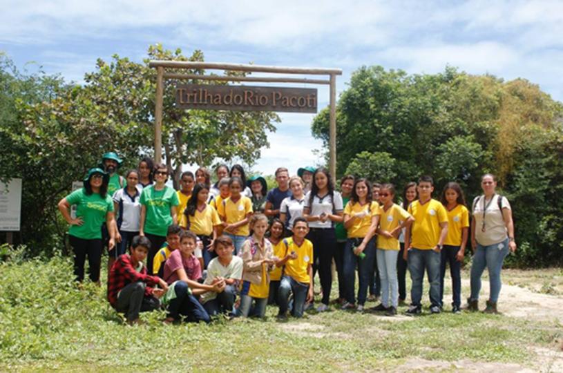 AMMA participa do Projeto Aflorar na APA do Rio Pacoti