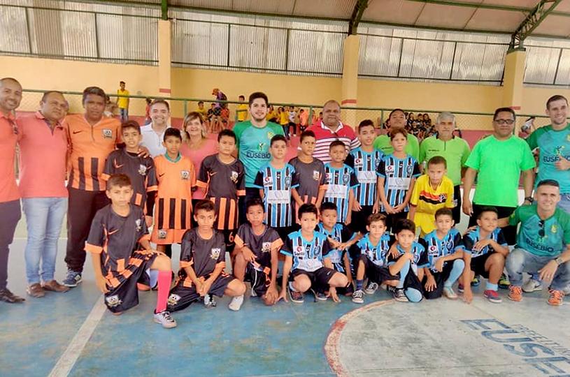 Eusébio conhece campeões da III Copinha do Infantil 2018