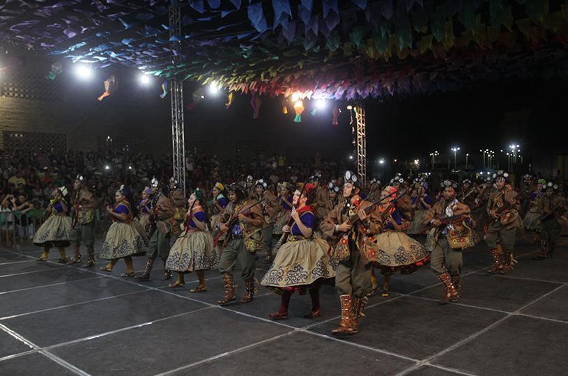 Junina Tradição vence Festival de Quadrilhas Regional da Sede, no aniversário do Eusébio