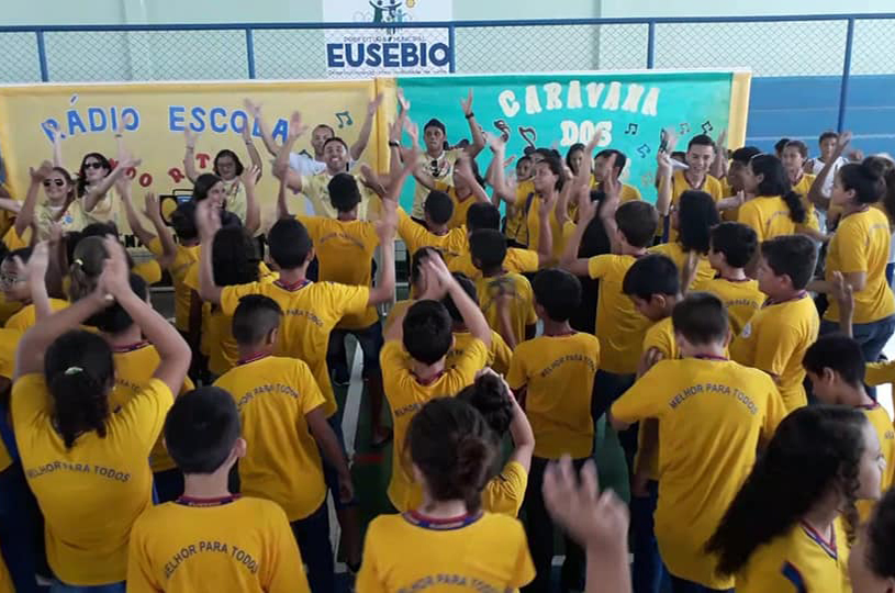 Eusébio reinicia as aulas nas escolas municipais nesta quarta-feira