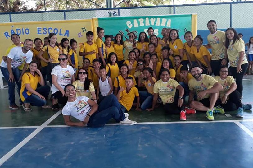 Caravana dos Ritmos atende 2.500 alunos no primeiro semestre