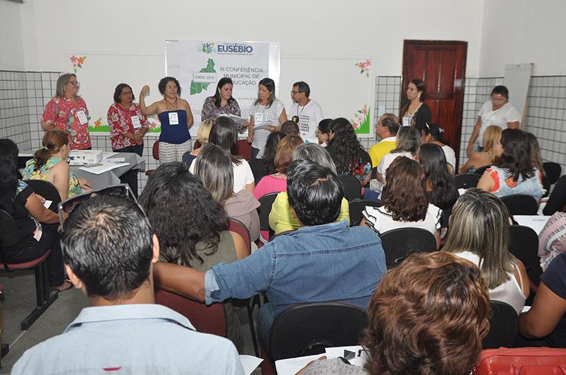 Eusébio realiza III Conferência Municipal de Educação