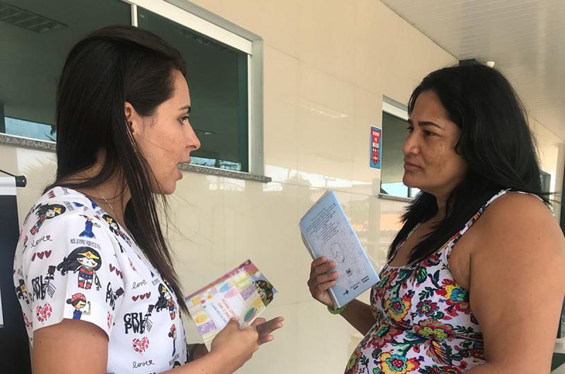 Hospital Amadeu Sá realiza conscientização sobre aleitamento materno nas comunidades
