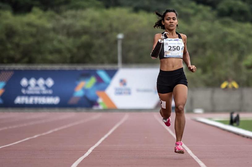 Atleta eusebiense é destaque em torneio nacional de atletismo paralímpico
