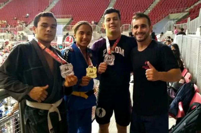 Atletas de Eusébio se destacam no Campeonato Mundial de Jiu-Jitsu