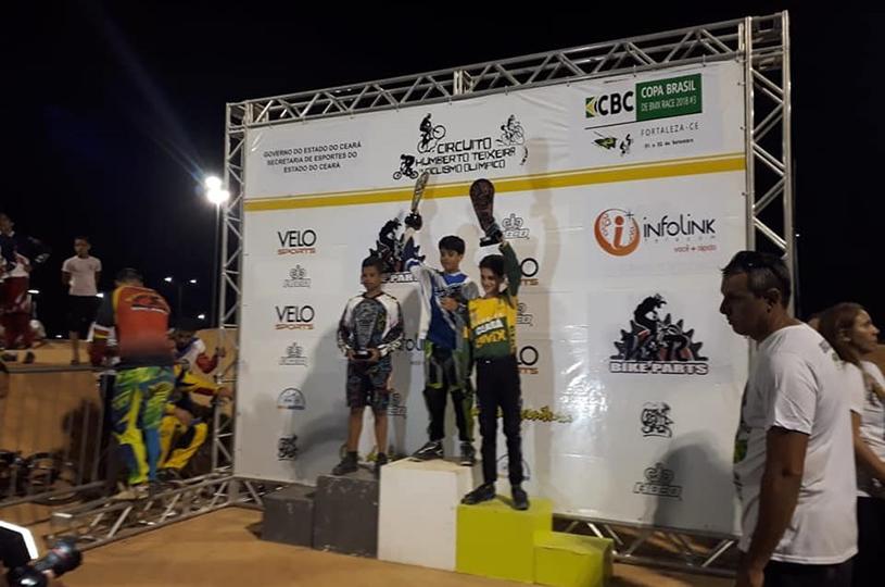Equipe de Bicicross do Eusébio contribui para classificar o Ceará em quinto lugar na Copa do Brasil
