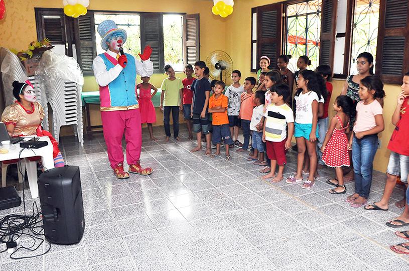 Secretaria de Desenvolvimento Social realiza programação voltada para as crianças eusebienses