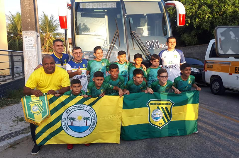 Equipe de Futsal Sub11 do Sport Club Eusébio participa da Taça Brasil em Recife