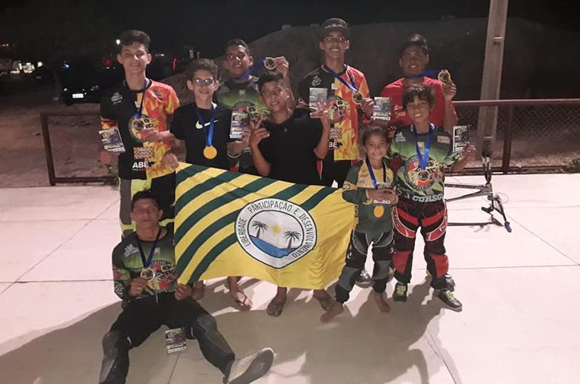 Eusébio sobe ao pódio na II Copa Quixadá de Bicicross
