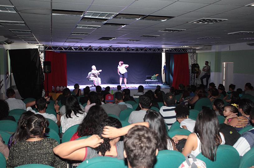 Eusébio realiza o 10ª Festival de Teatro nesta quinta-feira na Escola Profissionalizante