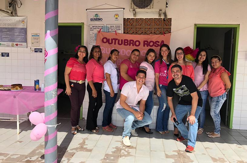 NASF Timbú realiza programação do Outubro Rosa