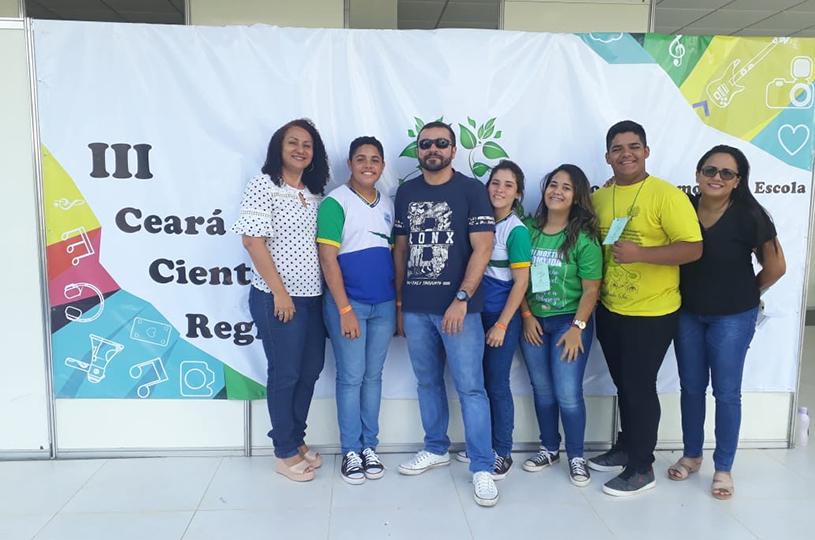 Alunos eusebienses apresentam trabalhos na etapa regional do Ceará Científico