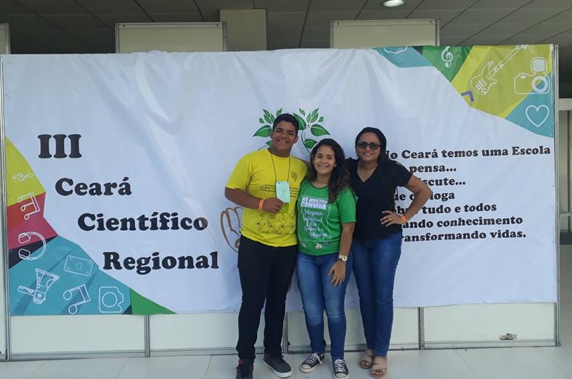 Escola Paulo Sá vence o Prêmio Ceará Científico Regional 2018