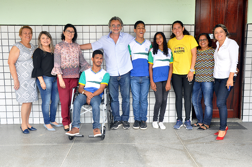 Atletas de Eusébio integram delegação cearense que disputará Paralimpíadas em São Paulo