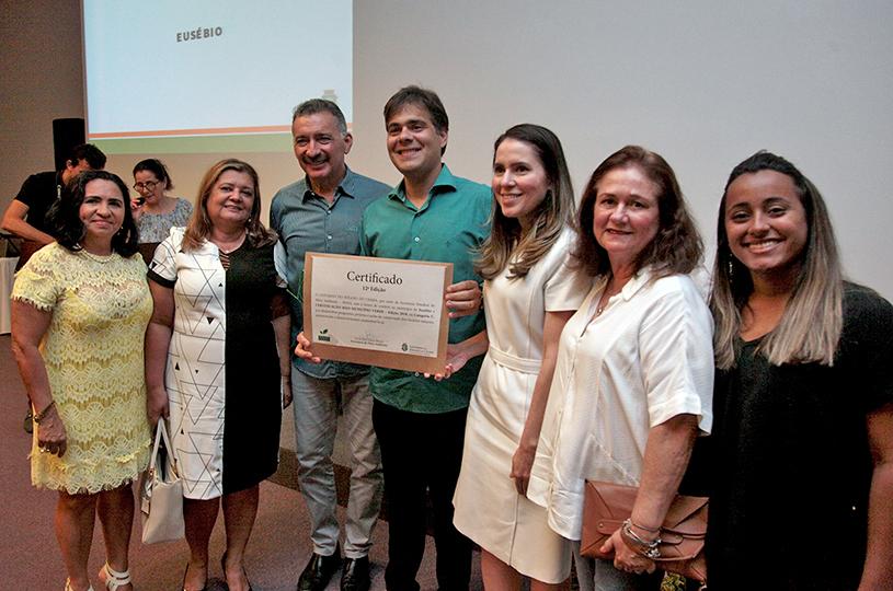 Eusébio é certificado com o Selo Município Verde 2018