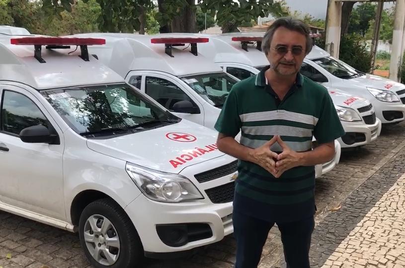 Prefeitura adquire seis ambulâncias para ampliar serviço de transporte de pacientes