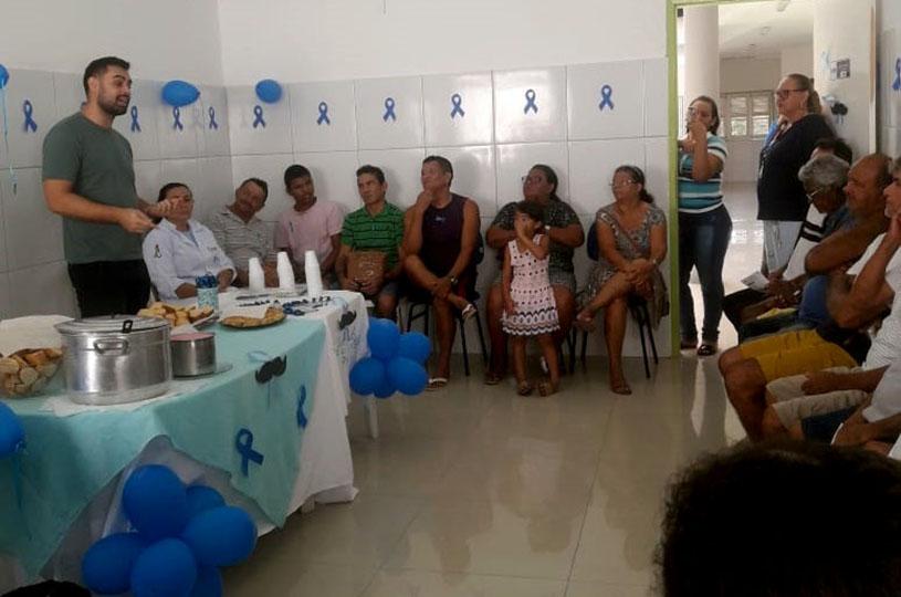Unidades Básicas de Saúde do Eusébio concluem a campanha do Novembro Azul
