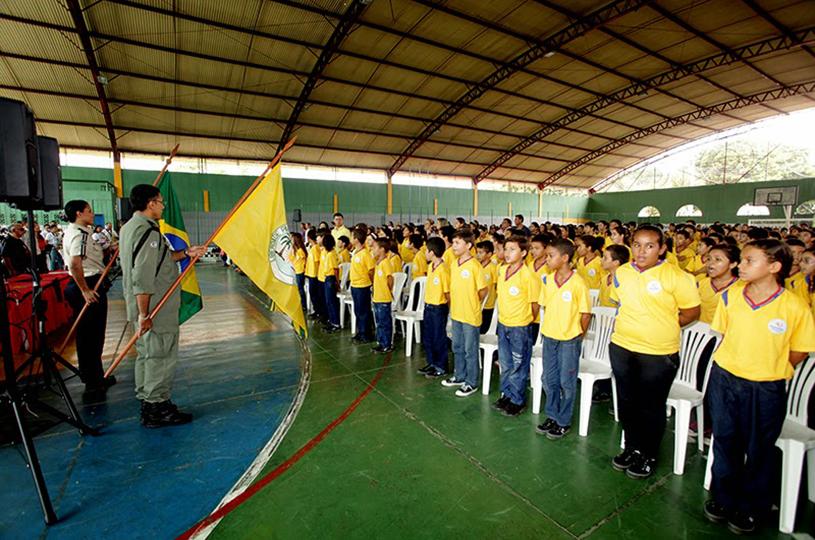 Eusébio realiza a formatura de 238 alunos no Proerd